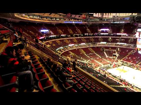 Oklahoma City Thunder x Chicago Bulls 11/08/2012 - United Center inside view before match