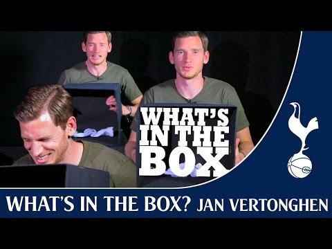 What's In The Box? FT Jan Vertonghen !