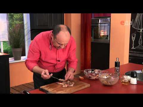 Как приготовить перепела в духовке - видео