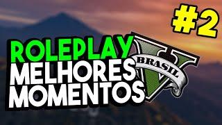 RP MELHORES MOMENTOS #2 - HACK NO SERVIDOR, PEDIDO DE CASAMENTO, POLICIAL FANTASMA