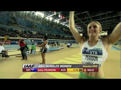 60m hurdles Women Final - Istanbul World Indoors 2012