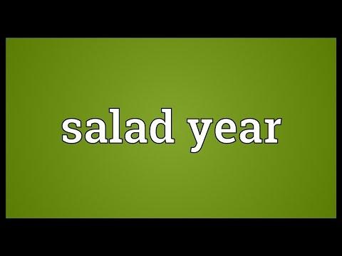 Header of salad year