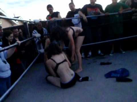 Ugwa Bra And Panty Triple Threat Match (2 2) Ugwa video