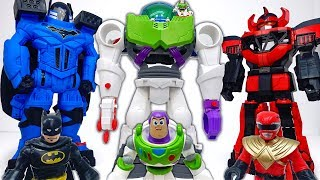 Giant Robots Are Stolen~! Toy Story 4 Buzz Lightyear Robot #ToyMartTV