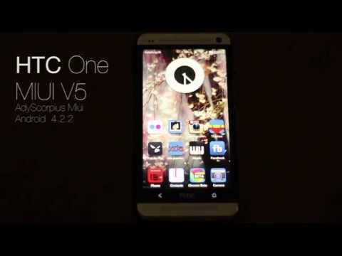 HTC One MIUI v5