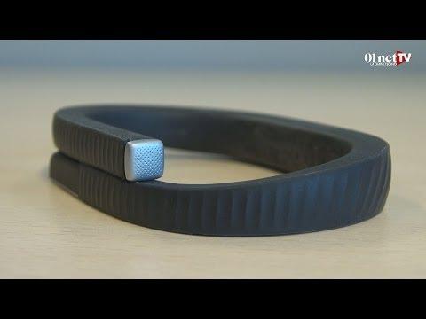 Test du bracelet connecté Jawbone Up 24 : discret et multifonctions