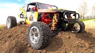 RELEASE THE KRAKEN! GiANT VEKTA 5 1500 RACE TRUCK - 32cc Gas Powered Machine - BRAP! | RC ADVENTURES