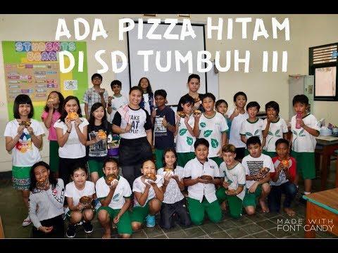 BLACK PIZZA AT TUMBUH 3 PRIMARY SCHOOL