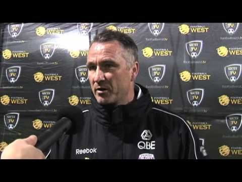 Western Australia v Perth Glory Post Match Interview