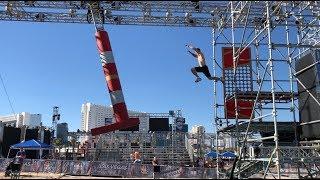 Joe Moravsky American Ninja Warrior 2018 Vegas Finals Stages 2 And 3 Course Testing