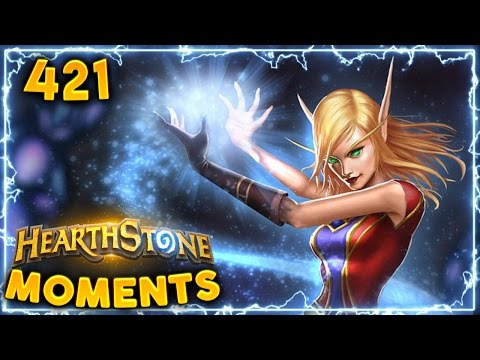 LUCKIEST MAGE IN THE WORLD.. | Hearthstone Daily Moments Ep. 421 (Funny and Lucky Moments)