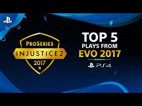Injustice 2 – Top 5 Plays from Evo 2017 | PS4