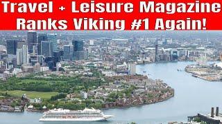 Travel and Leisure Magazine Ranks Viking Ocean Cruises #1 Cruise Line