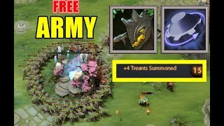 Rearm Army With +4 Nature's Call | Dota 2 Ability Draft