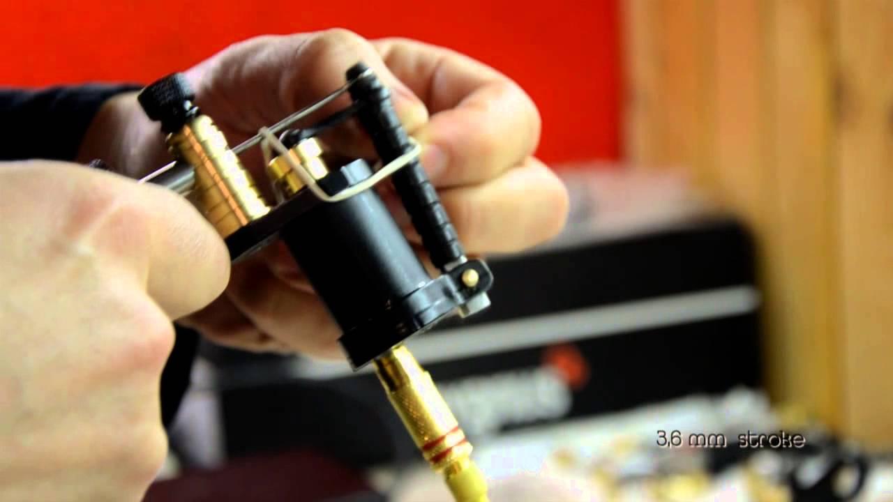 Rotary Tattoo Machine Review Ikarus Handmade Rotary Tattoo