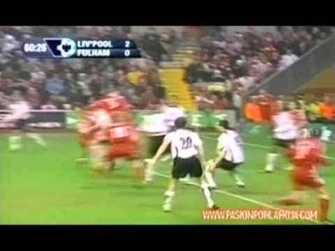 Gol de Mark González   Liverpool vs  Fulham  Premier League 2006