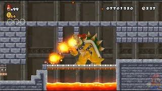 New Super Mario All Stars HD: Super Mario Bros Lost Levels REMAKE 100% Mundo 7 y 8