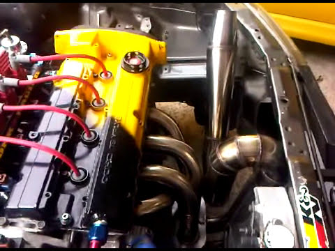 Zaki Spec WIRA ACR SUPER 4G91 N/A ~ idle billet cam + Mad Max xtreme drag header spec 2011