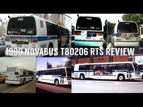 NYCTA 1999 Novabus T80206 RTS Review