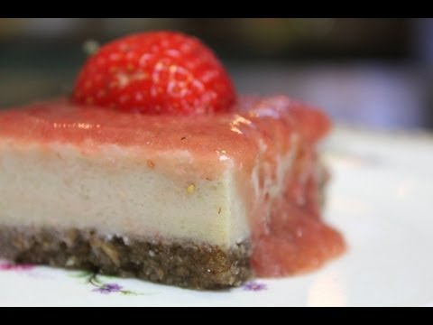 Vegan stRAWberry Cheesecake – Organic & Gluten-free