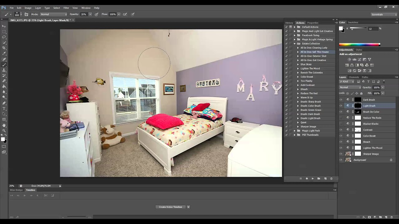 How To Edit Interior Photos In Photoshop And Photoshop