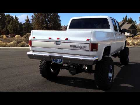 89 Chevy Crewcab Duramax short bed conversion