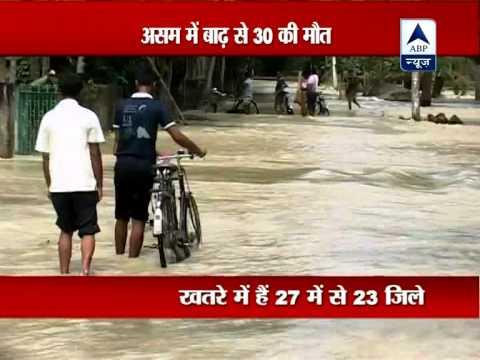 Assam flood scene grim, toll rises to over 30 