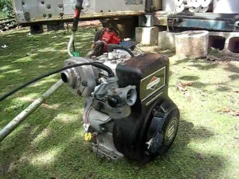 Briggs and Stratton 5hp pulse carb & governor deleted