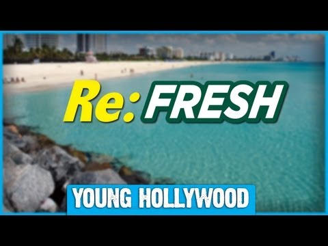 Young Hollywood Re:FRESH - Vanilla Ice, Larry King, & More From Miami!