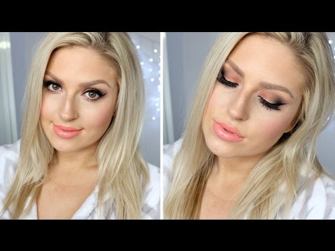 Get Ready With Me ♡ Hair & Makeup! ♡ Smoked Copper & Peach!