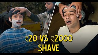 Rs 20 Vs Rs 2000 Shave | Ft. Akshay | Ok Tested