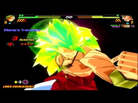 Dragon Ball Z Budokai Tenkaichi 3 Version Latino *Broly SSJ3 vs Super Saiyajins 3* MOD