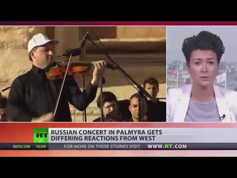 'Tasteless attempt to distract attention' West reacts on Russian concert in Palmyra