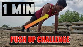 1 MINUTE PUSH UP CHALLENGE