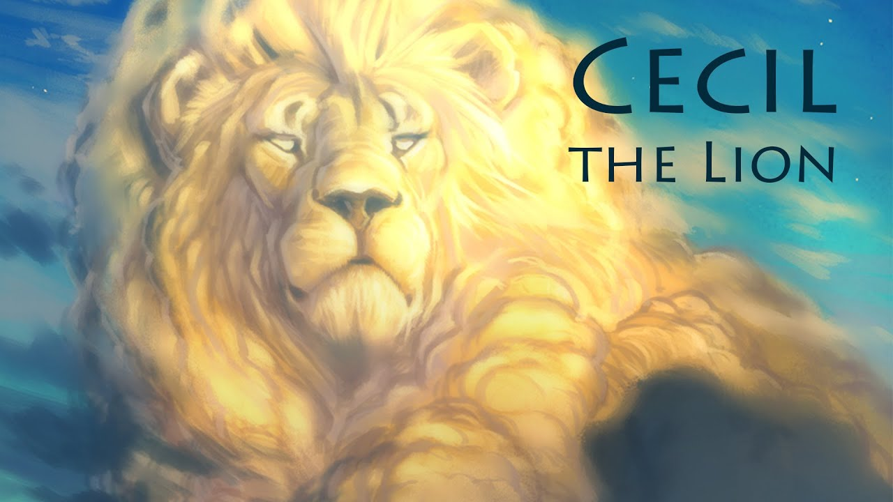 Speed Paint - Photoshop   Cecil the Lion