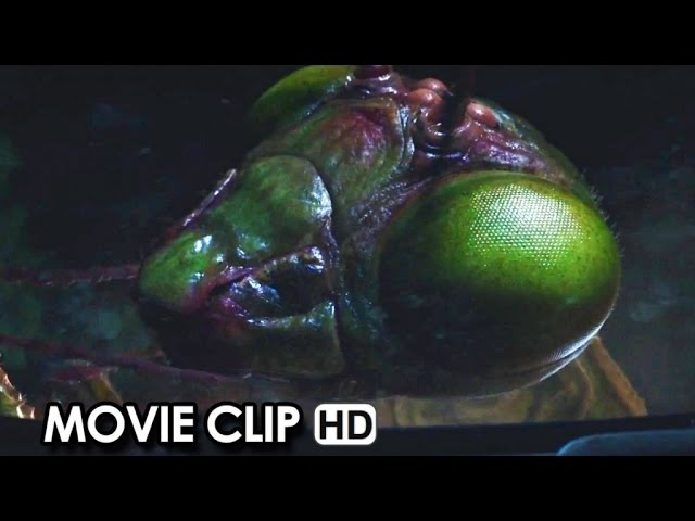 Goosebumps ft. Jack Black Movie CLIP 'The Giant Praying Mantis' (2015) HD