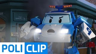 The fire burns and the smoke is heavy! | Robocar Poli Rescue Clips