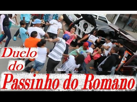 Duelo do Passinho do Romano - Mc Barriguinha e Mc Tonny Zl (Clipe Oficial Hd) Gravado 100% no Romano