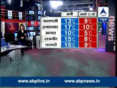 ABP Weather LIVE l Sunny day in Delhi, dense fog likely on Friday