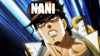 Every Single ?NANI? In Stardust Crusaders