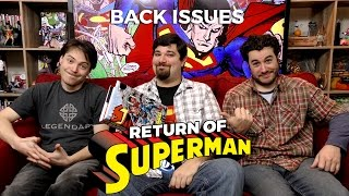 Superman Back From the Dead (Reign of the Supermen) - Back Issues
