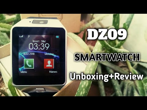 DZ09 Smartwatch Unboxing and Review in Urdu/Hindi 2018 | Best Budget Smartwatch