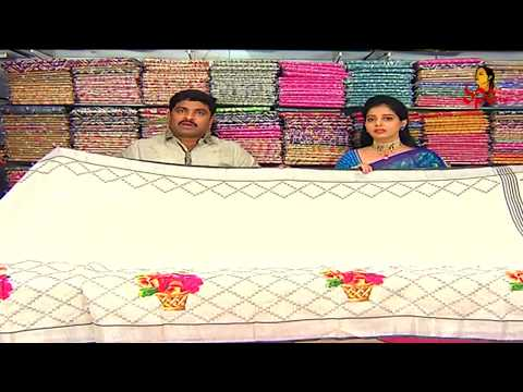 Diamond Design Skirt Border Lenin Fancy Saree | New Arrivals | Vanitha TV