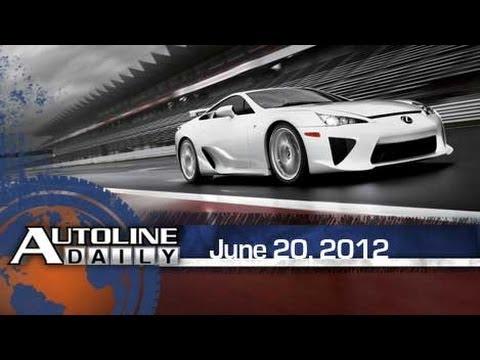 Lexus LFA Nearly Soldout - Autoline Daily 915