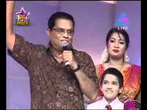 Jagathy blasting Renjini nd star singer  judges.wmv