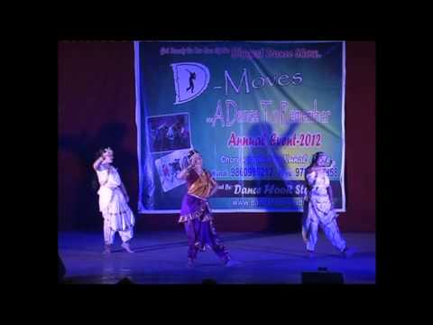 Ekadantaya Vakratundaya - Ganesh Vadana Dance d - Moves-2012( Dance Floor Studio) video