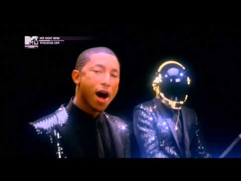 Daft Punk ft. Pharrell Williams - Get Lucky (Official MTV Video...