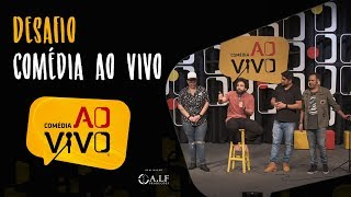 Desafio Comédia ao Vivo - Prisão de Danilo Gentili / Corinthiano oferece esposa por ingresso