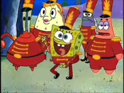 Everyday I'm Shuffling - Spongebob video