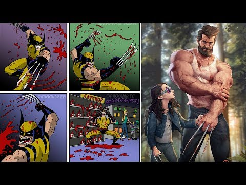 "20+ ""X-Men Special"" FUNNY SUPERHERO COMICS."